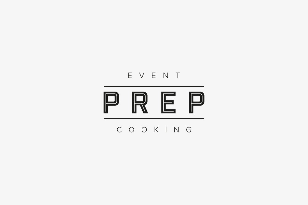 Logo design for Prep-Catering Westerham by Beth Cook Design East Sussex