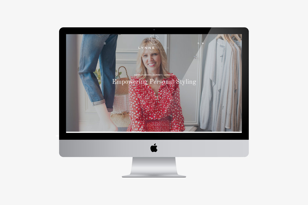 Styling Matters, Tunbridge Wells, Kent Website Mock Up