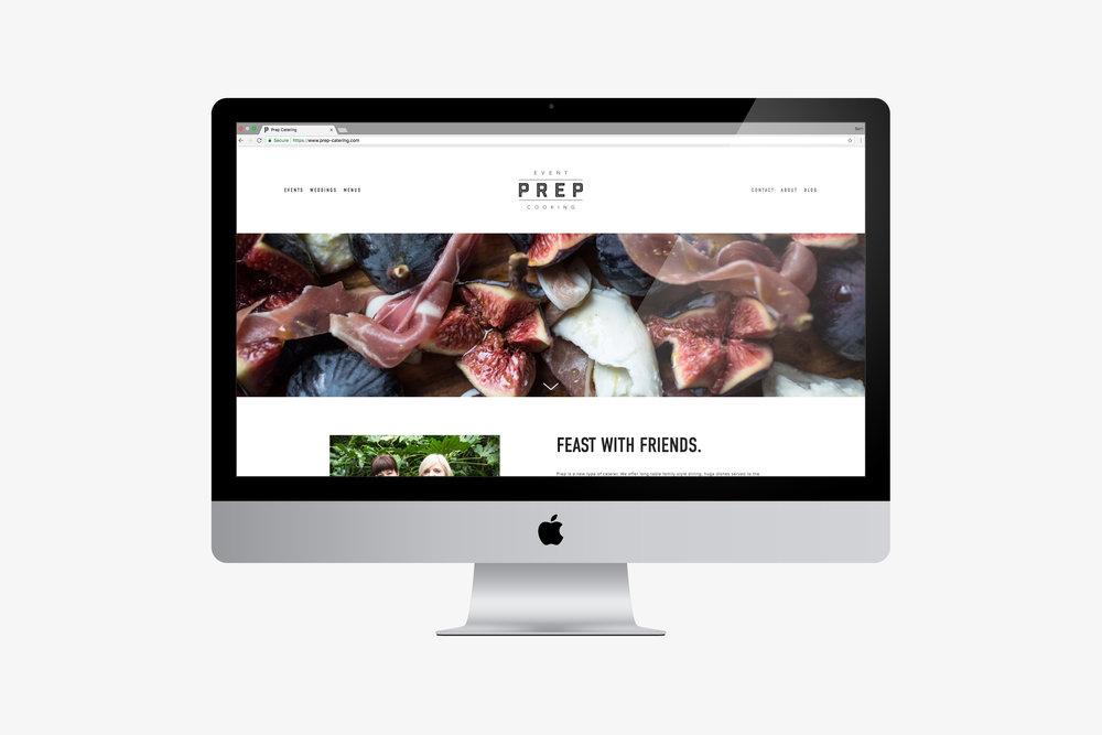 Website designer Westerham, Kent, catering business.