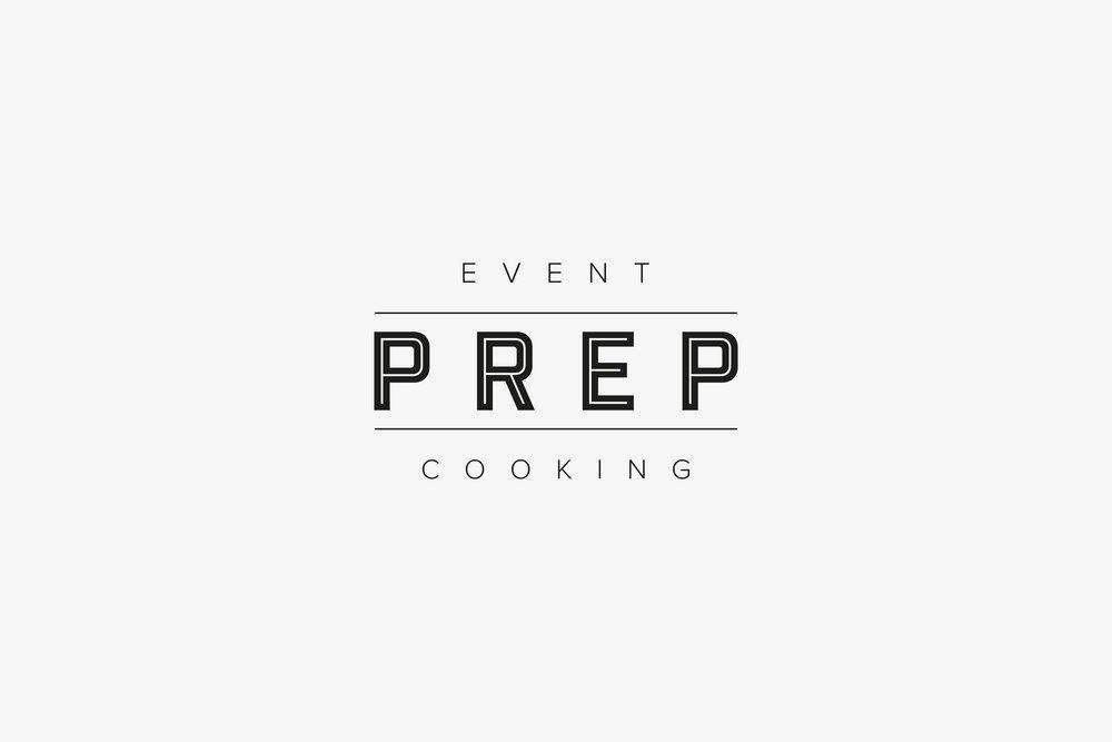 Logo design agency for Prep Catering, Westerham, Kent