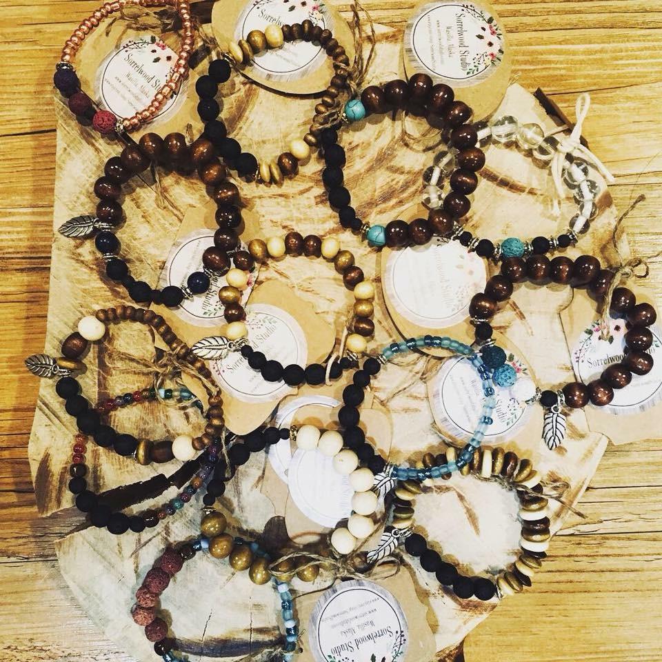 Aromatherapy Lava Bead Bracelets