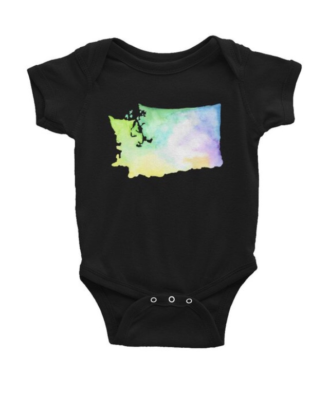 Washington State Onesie