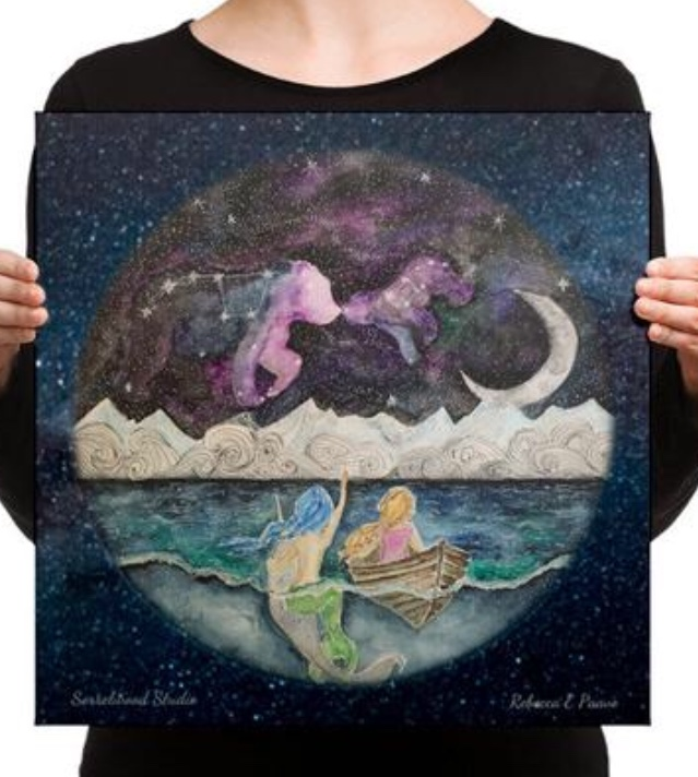 Mermaid w/ Ursa Major & Minor