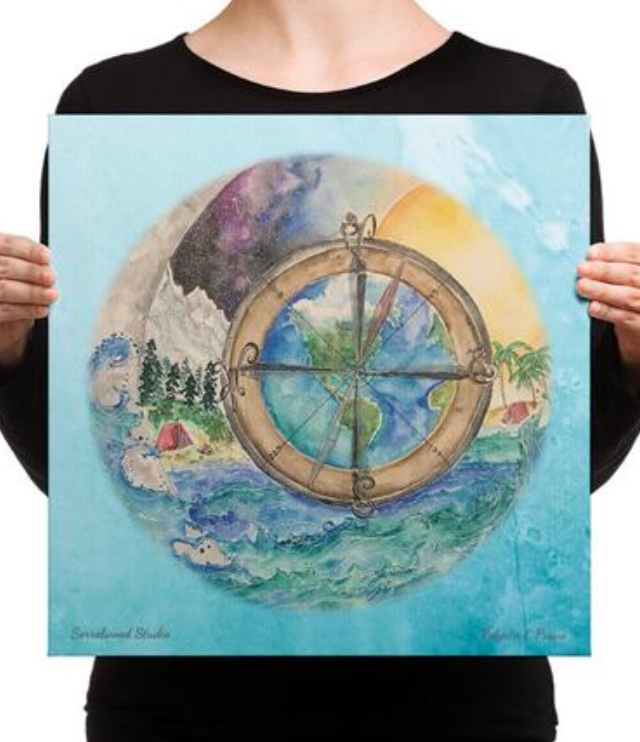 Wander-full Life Canvas Print