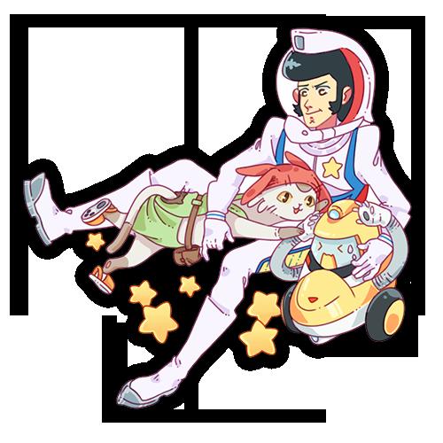 "Space Dandy 2.5"""
