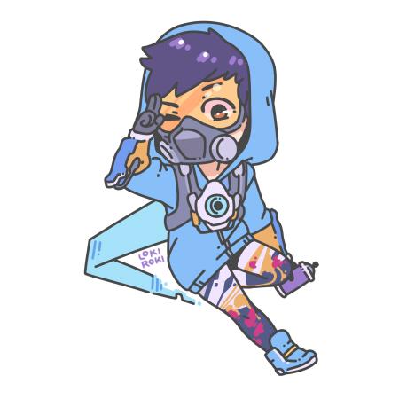 Overwatch Sticker (Fan Art)
