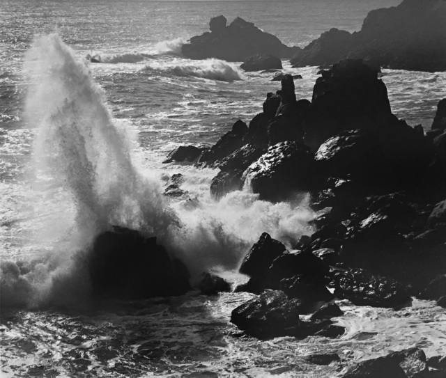 (Timber Cove, California Ansel Adams)