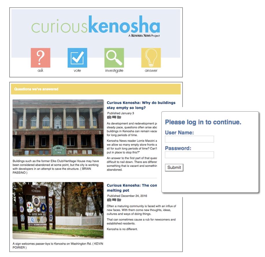 Kenosha News Paywall