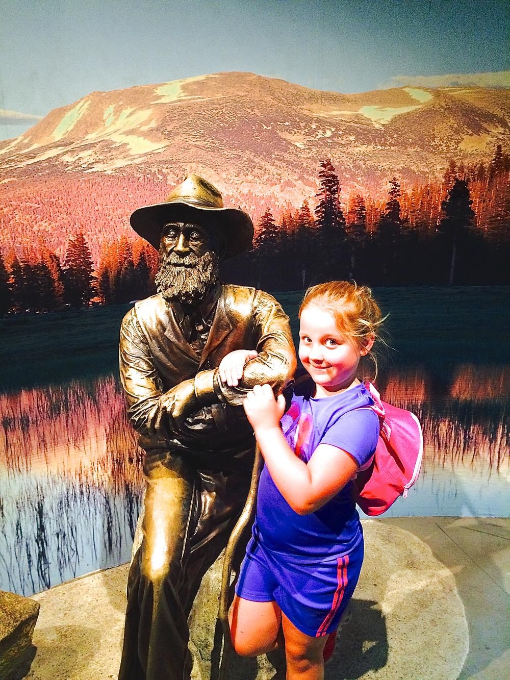 Raichel met John Muir!