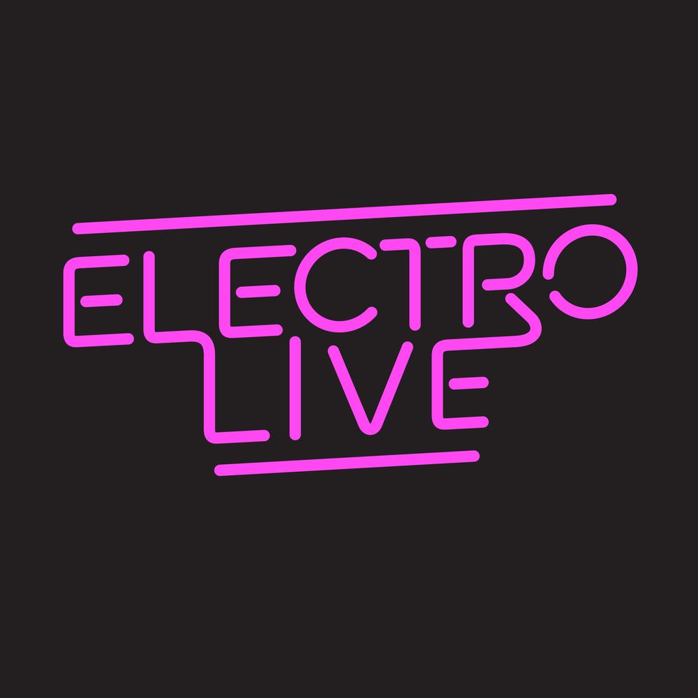 Logo design for music event, Electro Live