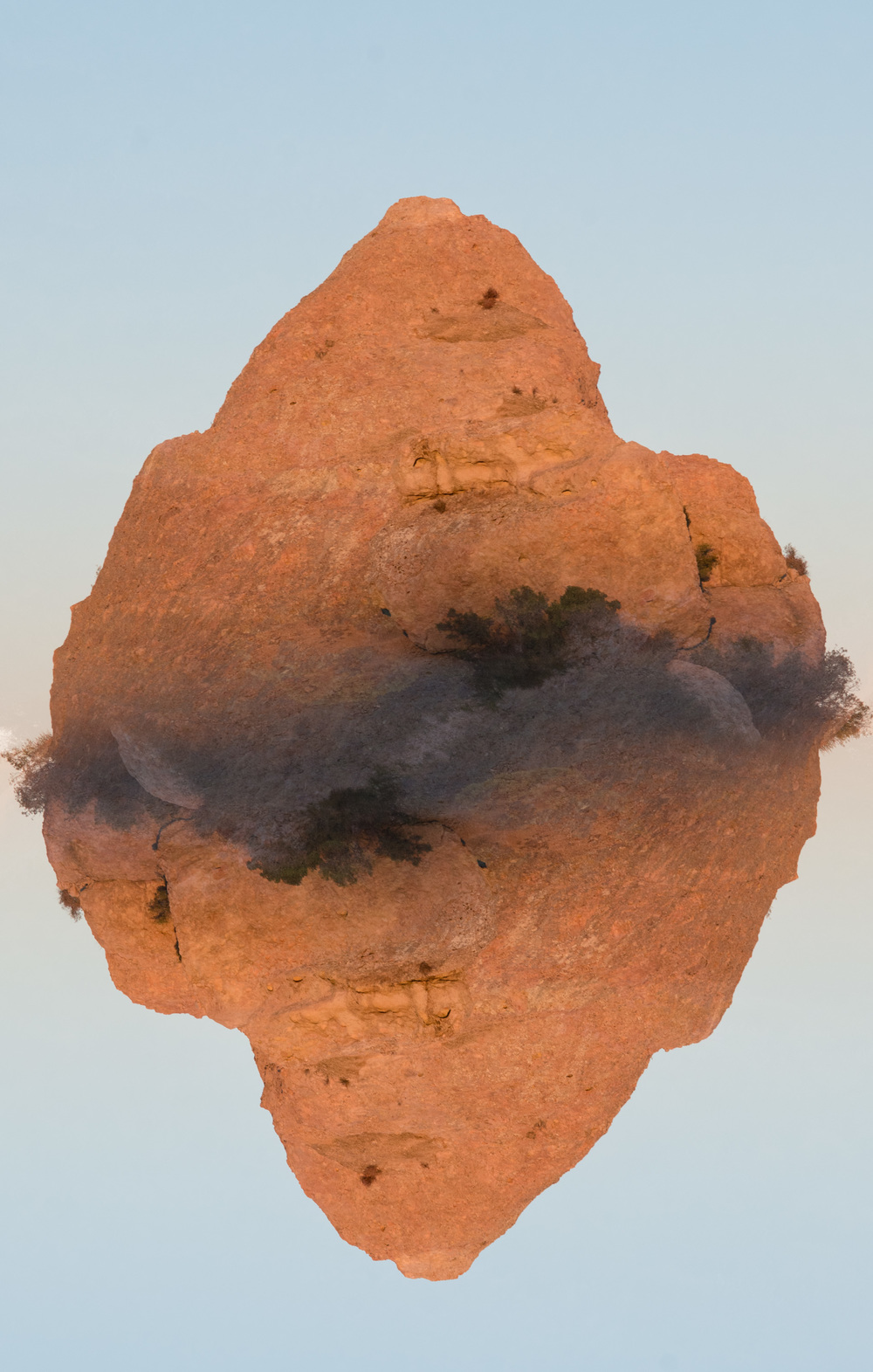 Floating Rock , 2013 Archival Pigment Print 40 x 30 inches