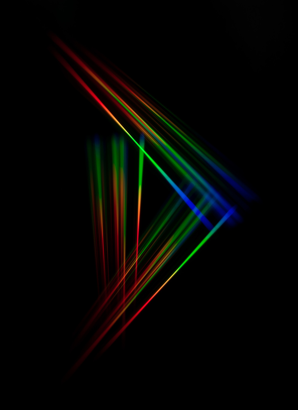 Diffraction Study II,  2016 Archival Pigment Print 40 x 30 inches