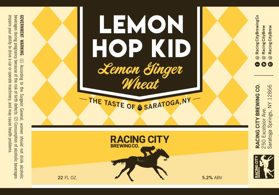 Racing-City-Beer-Label