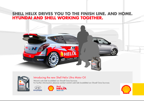 Tag Line Ad Copy Writer: Shell