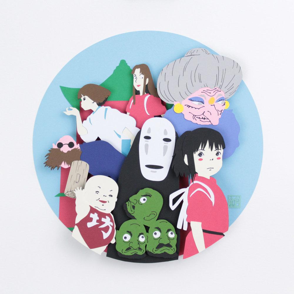 Spirited Away Fan Art
