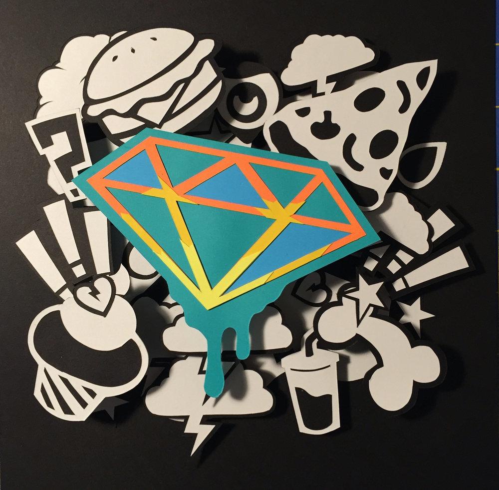 Blue Diamond Melt