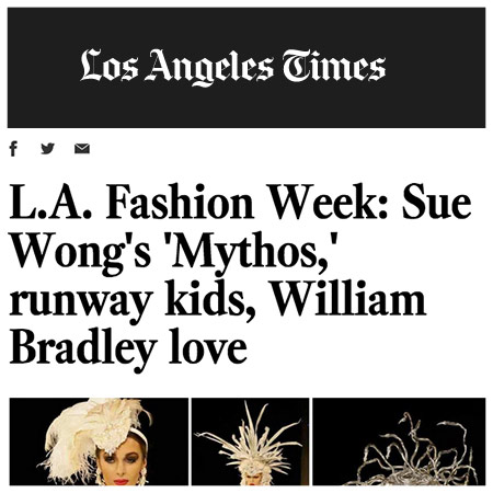 "THE LOS ANGELES TIMES | MARCH 2015 ""But the hands-down heart-string-pluck of the week goes to William Bradley, a contemporary L.A.-based women's label."""