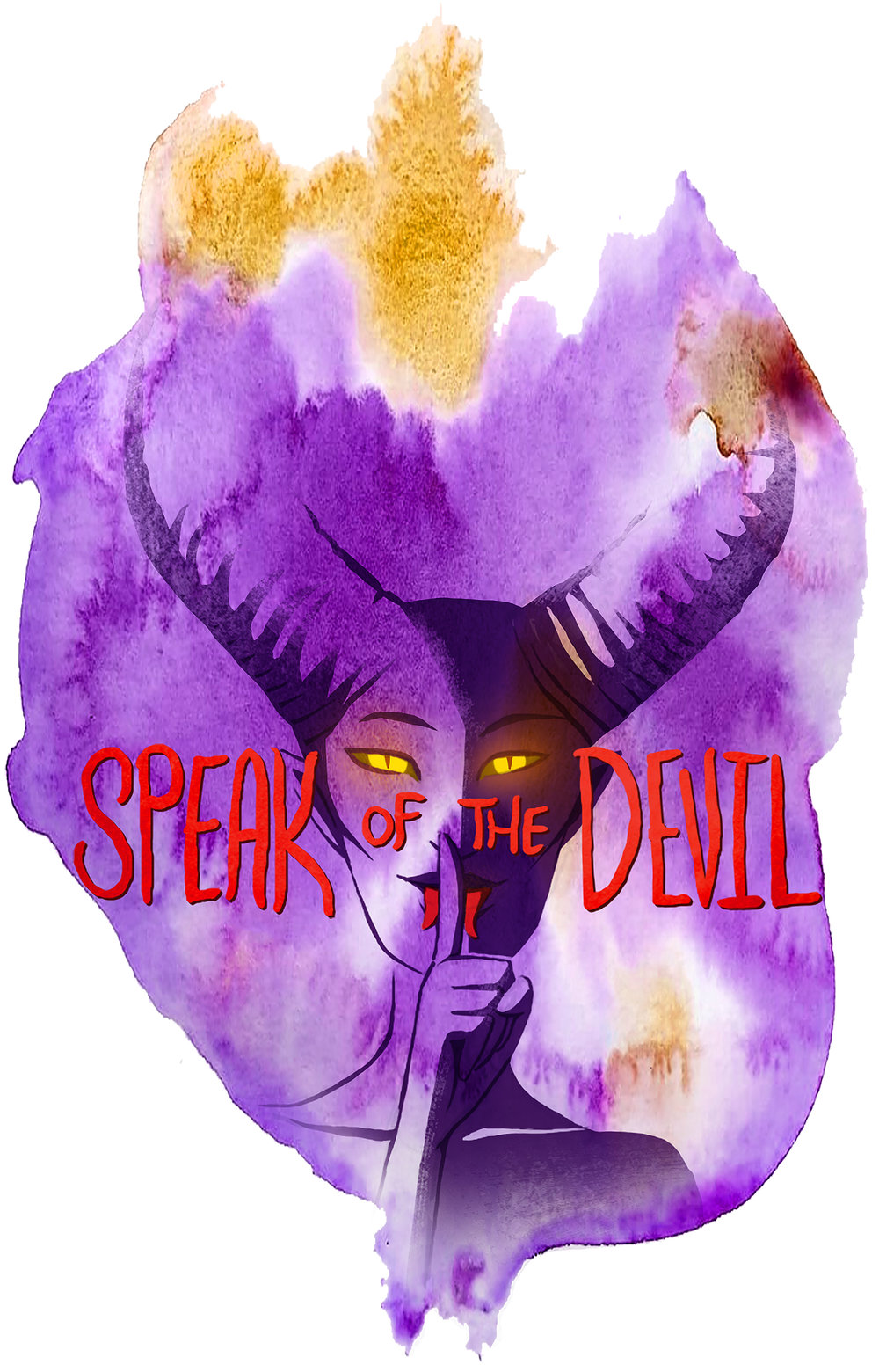 Speak of the Devil logo by the incredible  Stacy LeFevre