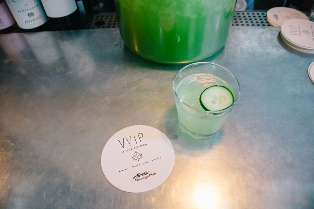 Drink of the weekend? The Van der Pop!