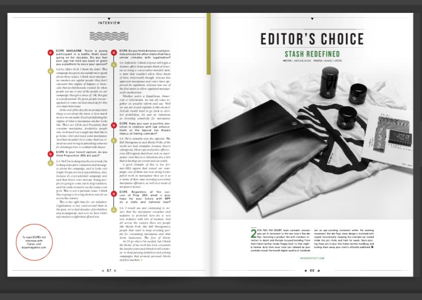 PRESS DOPE Magazine // Editor's Choice: Stash Redefined
