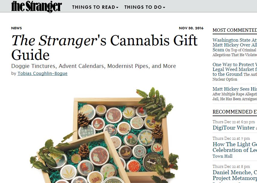 PRESS The Stranger's Gift Guide 2016
