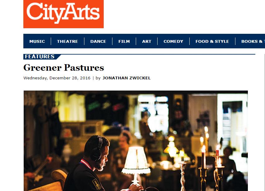 PRESS City Arts // Greener Pastures