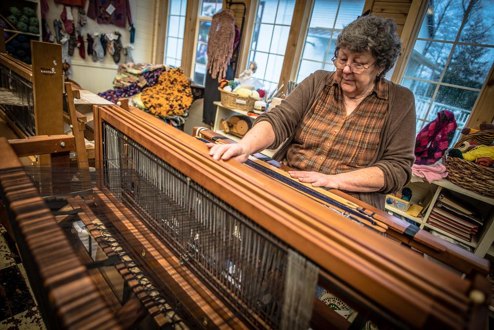Linda Machuta, Latimer Quilt & Textile Center, Tillamook