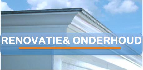 Renovatie en onderhoud Bouwservice van der Dussen www.bouwservicevanderdussen.nl