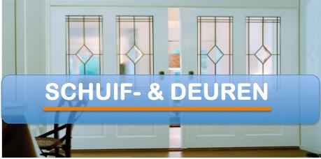 Schuifdeuren en deuren Bouwservice van der Dussen www.bouwservicedussen.nl