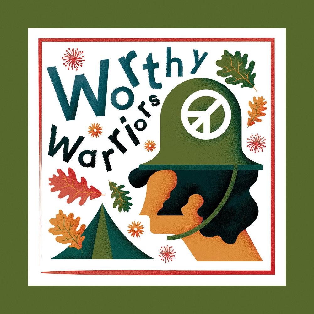 Glastonbury Festivals 'Worthy Warriors' campaign - 2016