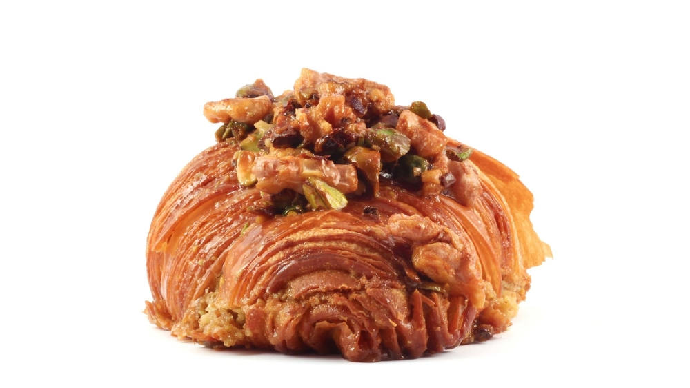 Twice Baked Baklava Croissant