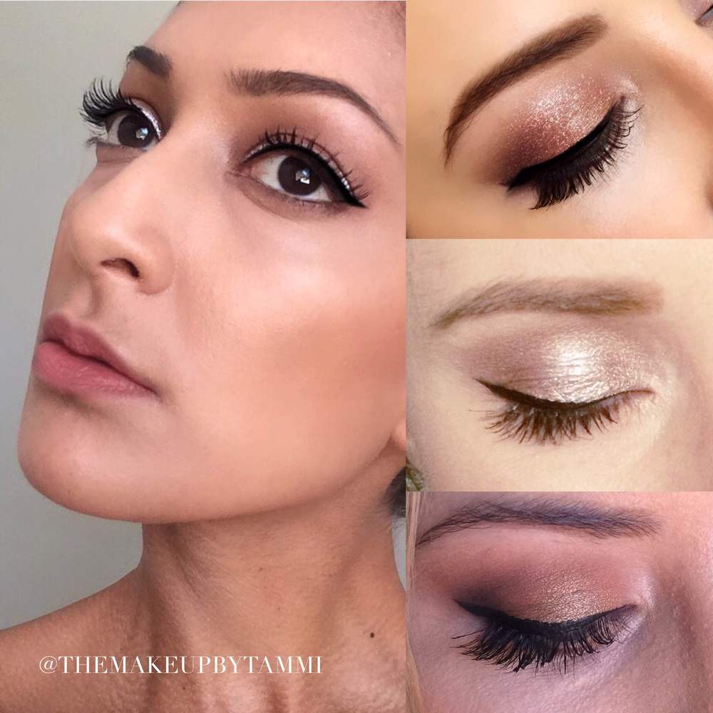 Try a full strip lash for maximum impact, or some individual lashes for a more natural effect.
