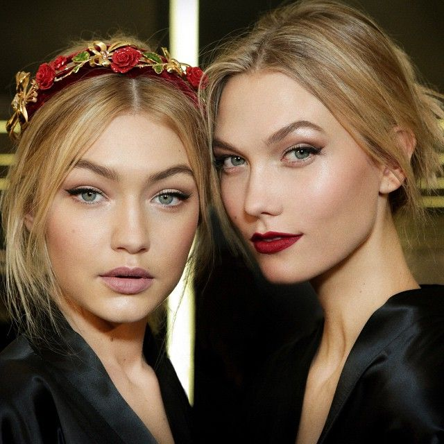 Pat McGrath created bridal perfection to suit for Dolce and Gabbana at Milan FW2015 (Image credit: Dolce & Gabbana)