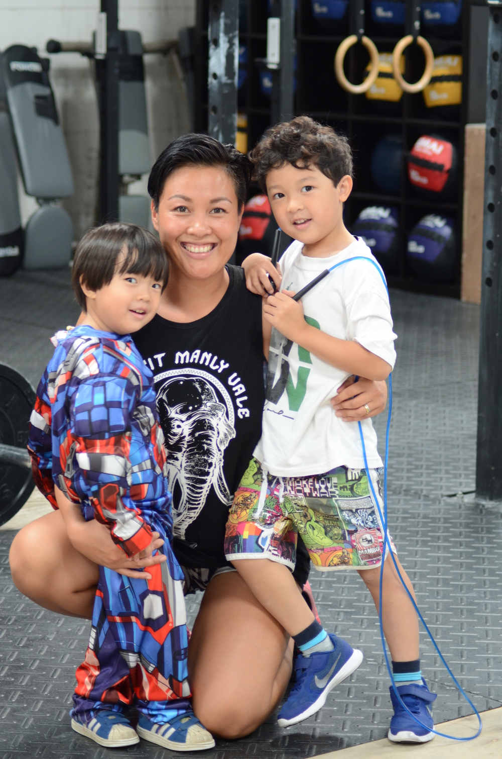 Natalie Sengchanh manages a family of six, a fitness business and a blog.  (Image via Natalie Sengchanh)