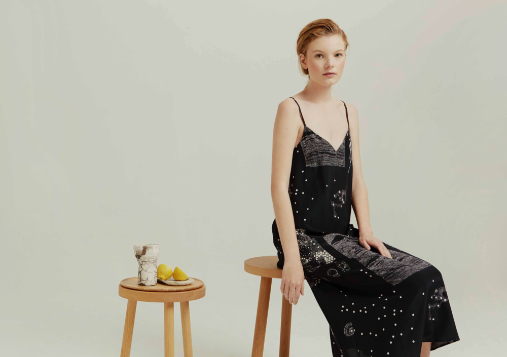 Milk and Thistle Slip Dress : Collector Print