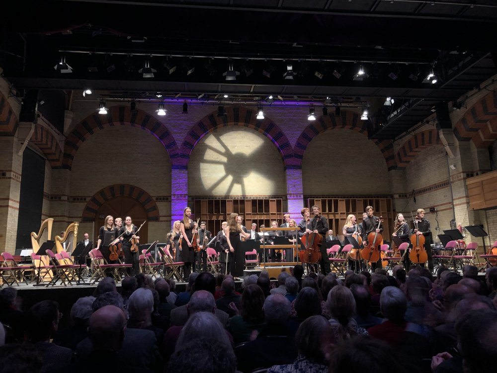 Mirga Gražinytė-Tyla conducting  In Cambridge Town