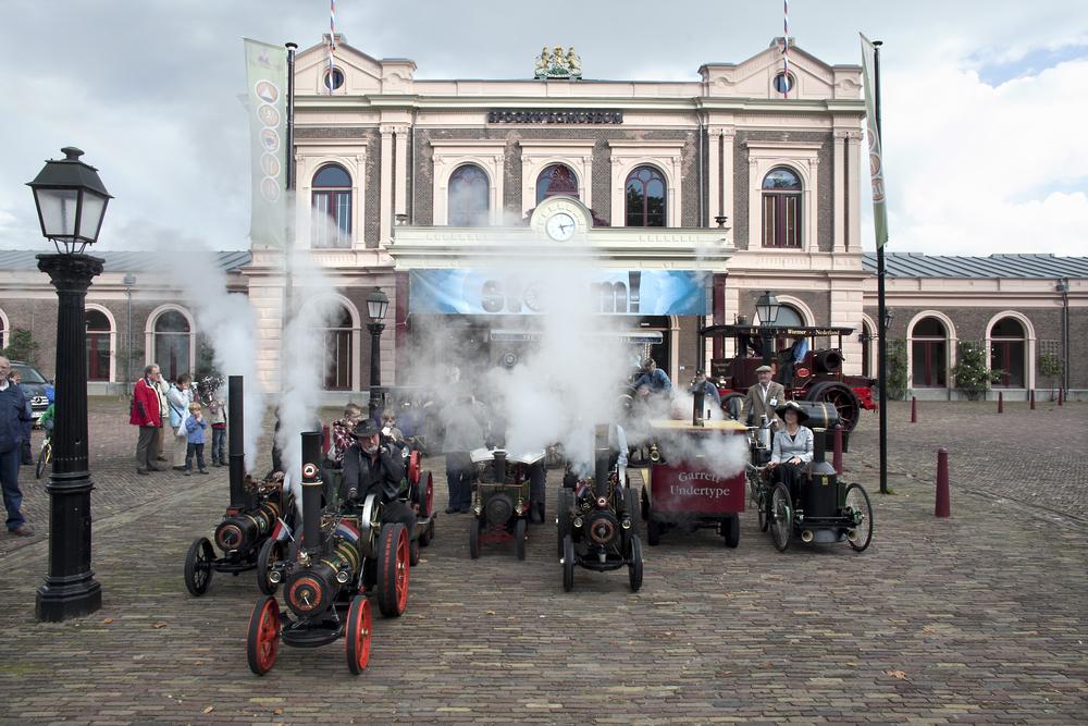 Het Spoorwegmuseum, STOOM!