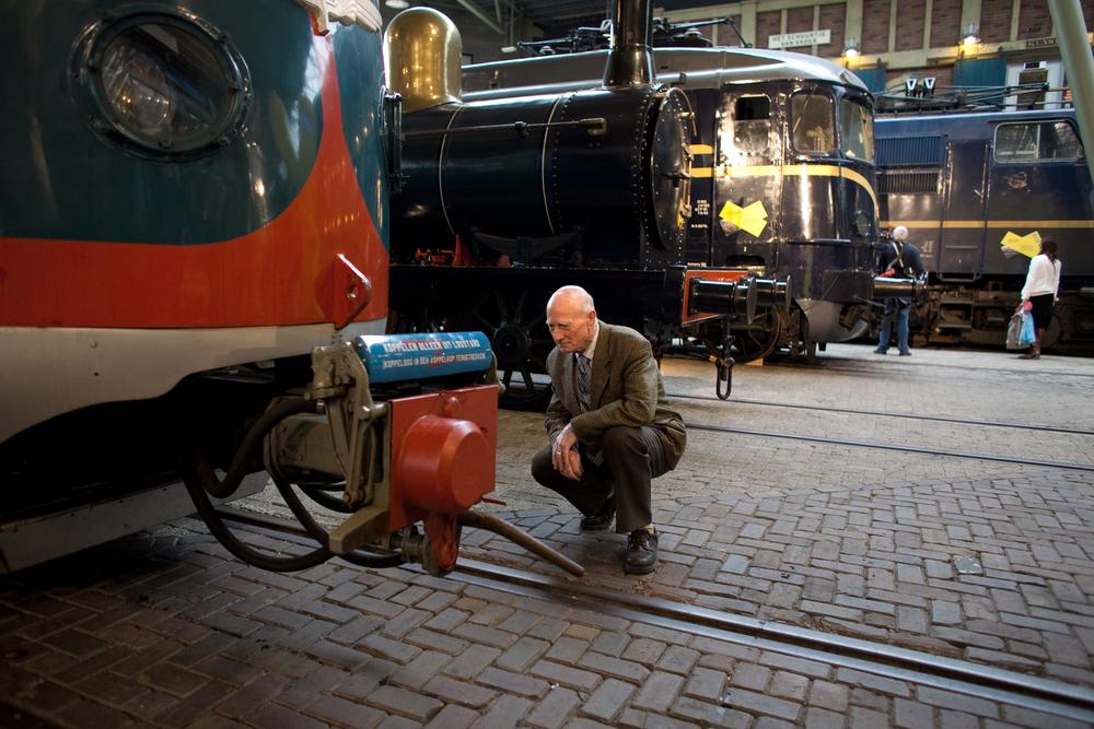 Het Spoorwegmuseum Utrecht, winterstation