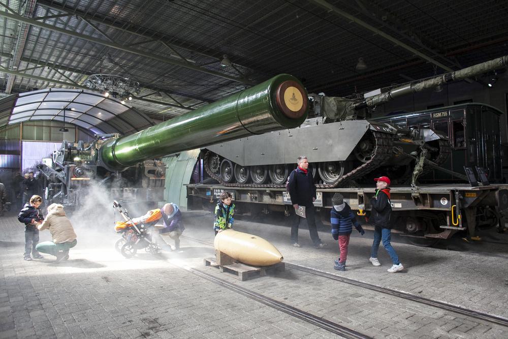 Het Spoorwegmuseum Utrecht, oorlog