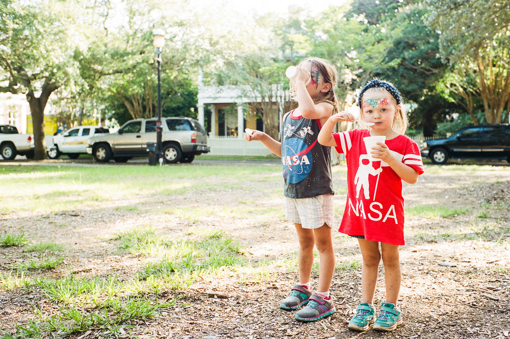 They're big fans of NASA and snocones :-)
