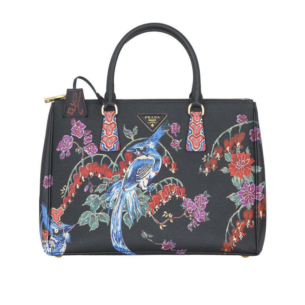 Customised-Hand-Painted-Prada-Bag