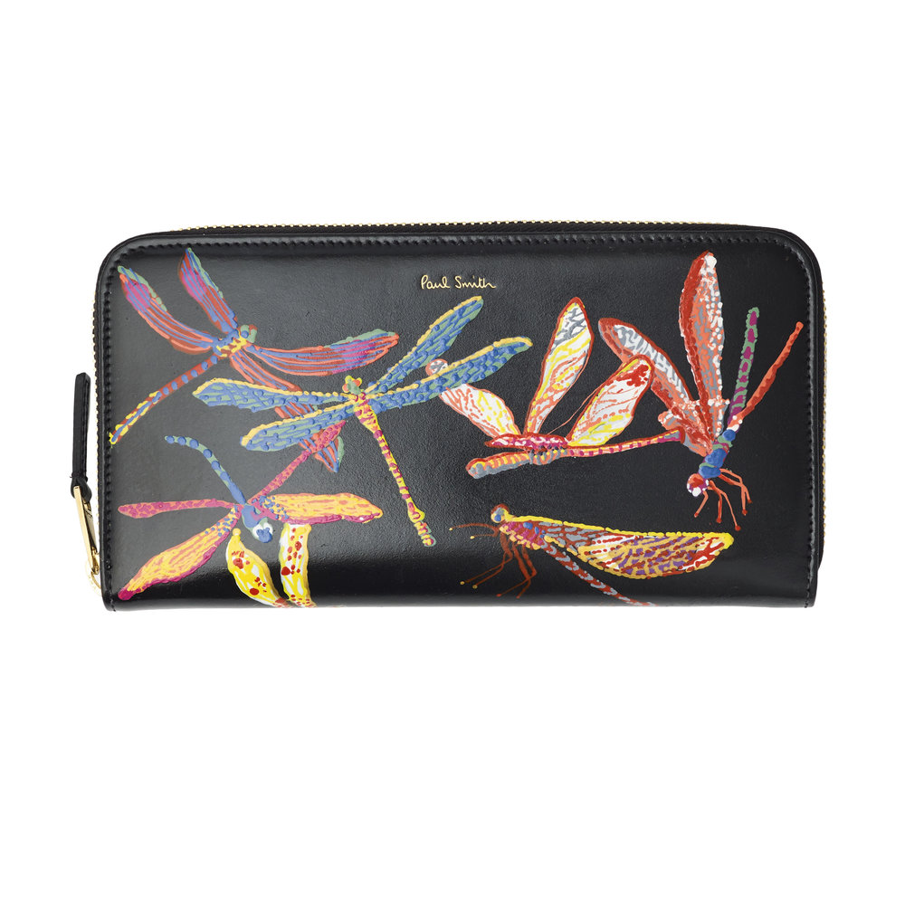 Paul Smith Wallet_Dragonflies_A.jpg