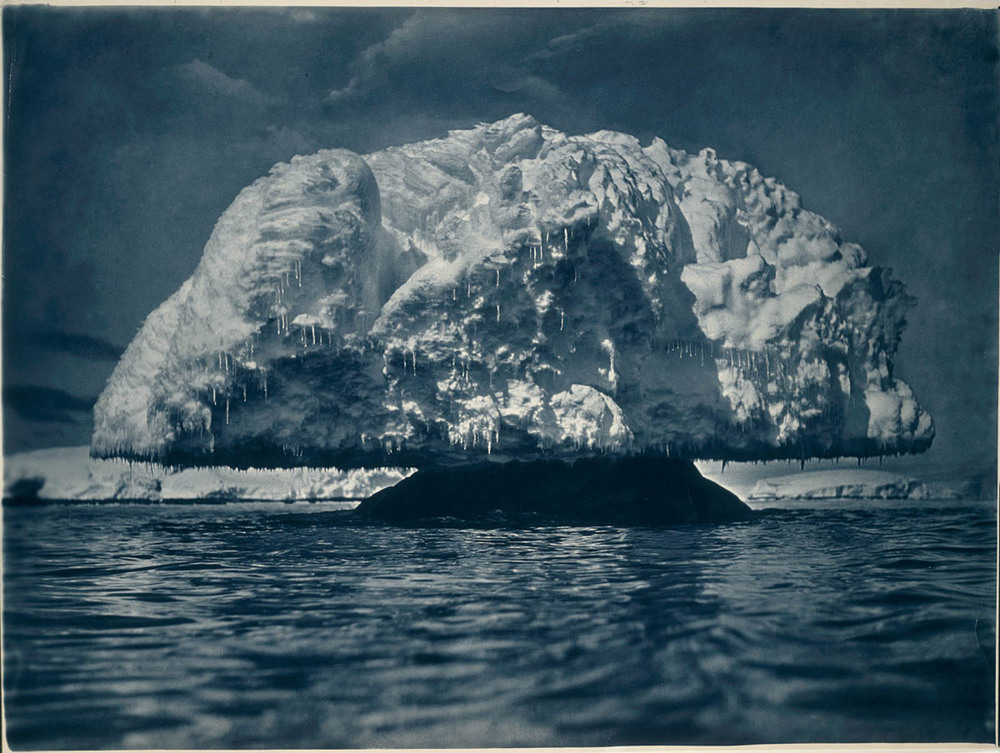 Here's an introduction to photographer Frank Hurley's monumental work in the Antarctic - he survived the Shackleton expedition, and so did his photos.