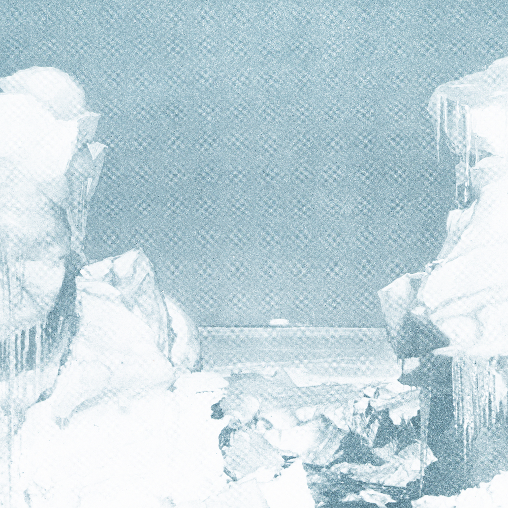 "from ""Highlights of the Byrd Antarctic Expedition"" copyright 1930"