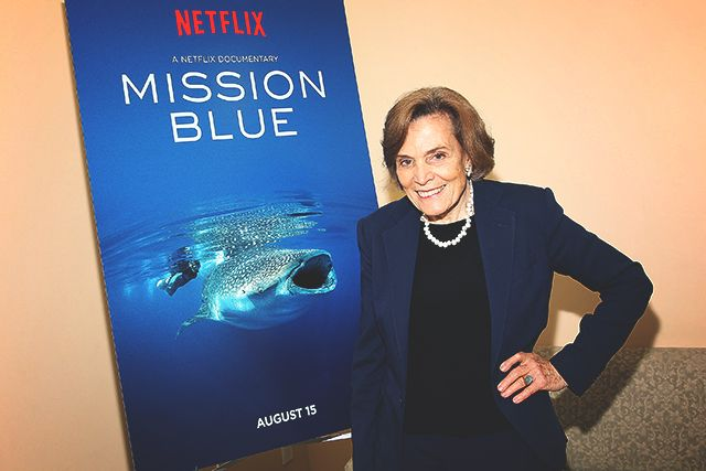 Ocean superstar – Dr. Sylvia Earle – works through Mission Blue, which aims to share her lifelong love and commitment to the sea, creating Hope Spots – marine sanctuaries, all over the world. If you haven't seen the Emmy® award-winning Mission Blue movie on Netflix, that's so what you're doing tonight. You will wake up tomorrow morning an ocean defender and Sylvia super-fan.