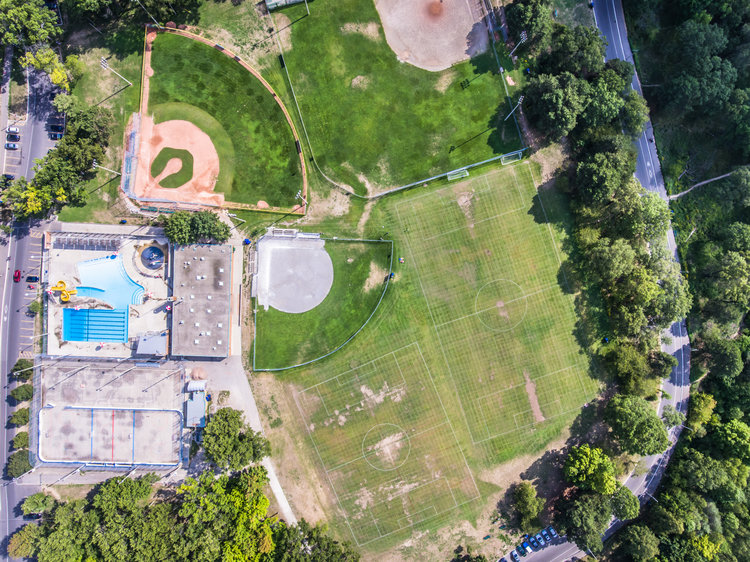 Fine Art Drone Photography High Park Sports