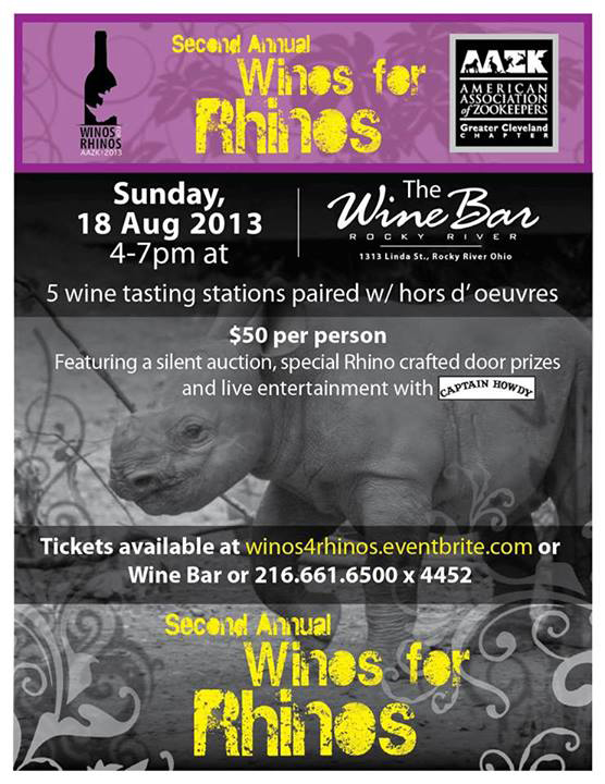 2013 Winos for Rhinos