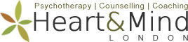 Heart & Mind, London - Counselling, Psychotherapy, Coaching, Supervision