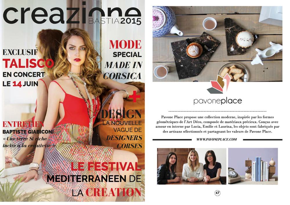 Salon Creazione - Bastia 2015 - www.creazionebastia.com