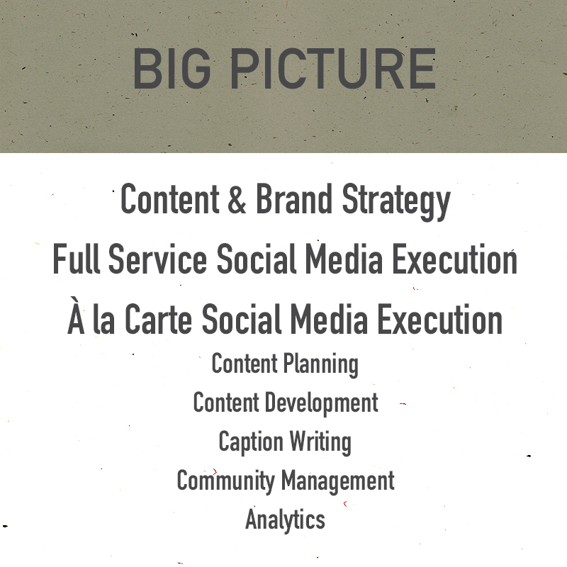 Content strategy, brand strategy, social media strategy, social media execution, content creation, content creator, content marketing, content development, social media caption writing, social media community management, social media analytics